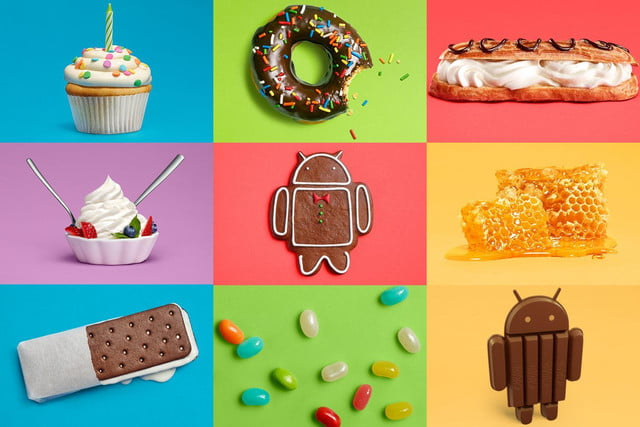 google android  th birthday versiones