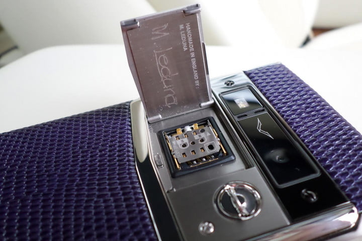 vertu signature touch review handmade