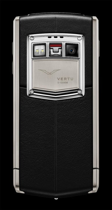 inside the vertu factory ti rear camera