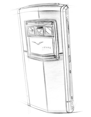 Vertu TI Sketch Rear