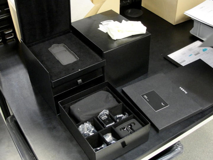 inside the vertu factory tour packaging