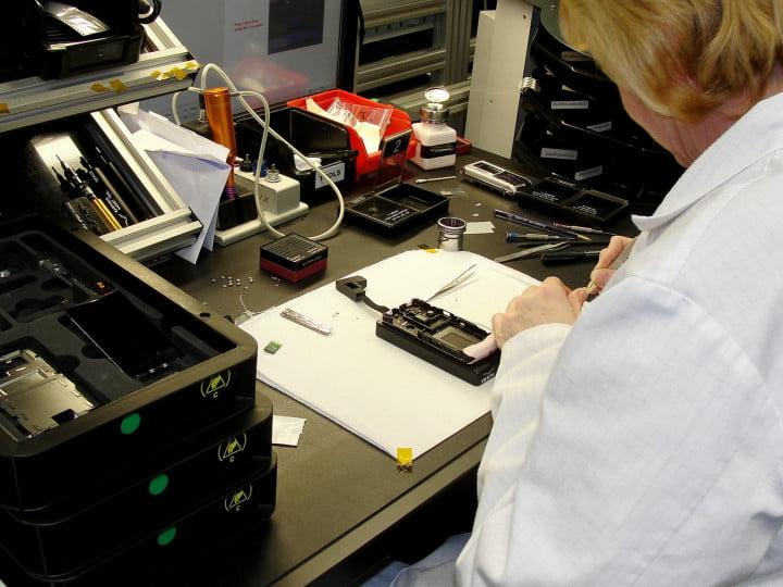 inside the vertu factory tour technician lab