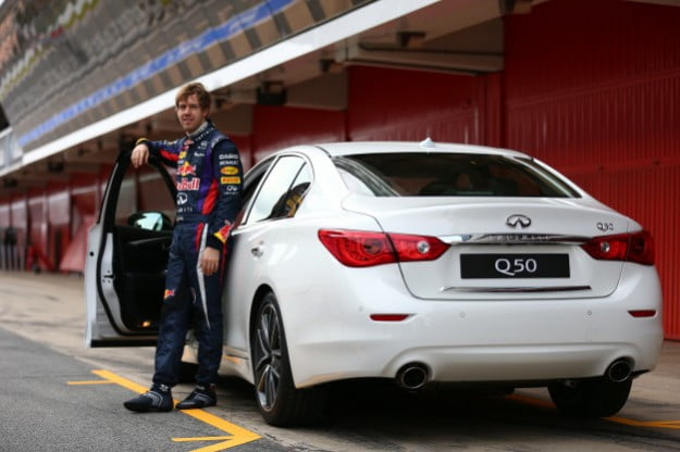 Infiniti names F1 champ Sebastian Vettel Director of Performance