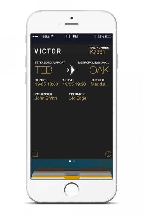 victor private jet charters app