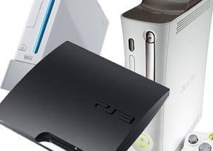Wii, PS3 Slim and Xbox 360