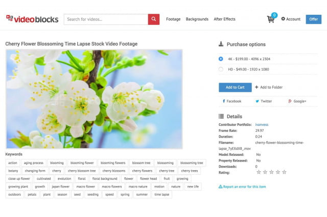 videoblocks offers unlimited use of stock videos adds premium content marketplace