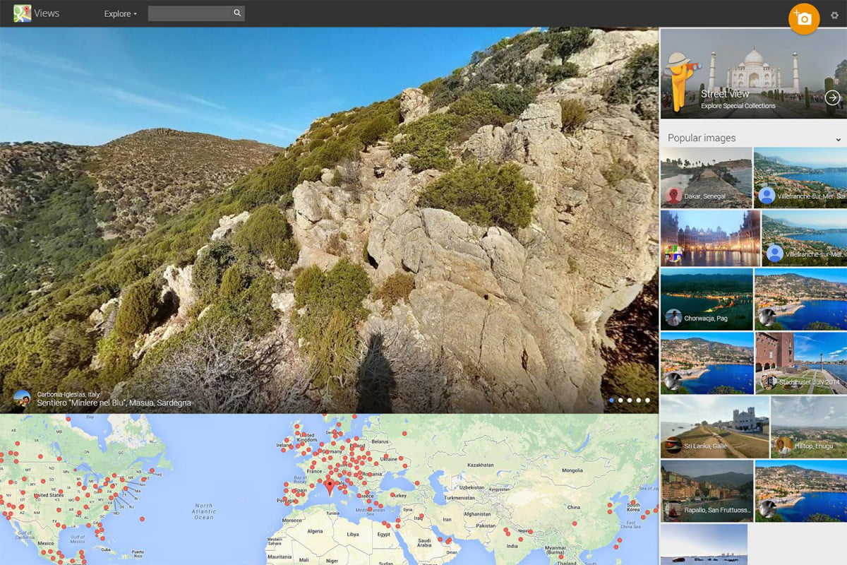 google recruits users photograph street view expanding views  maps
