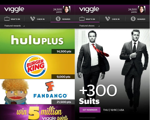 Viggle screenshot