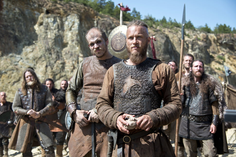 vikings history jonathan rhys meyers season five head  x c