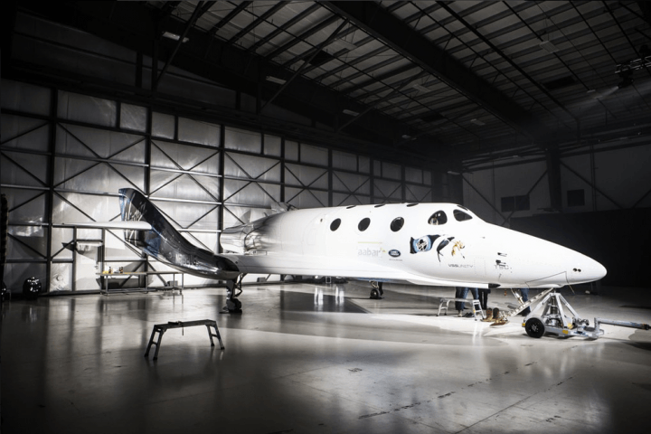 Virgin Galactic's new SpaceShipTwo
