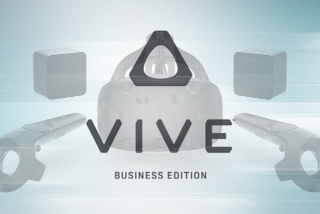 business edition of htc vive vr headset adds support  to price tag vivebusiness