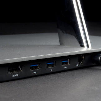 Vizio All in One Touch 24 review back ports