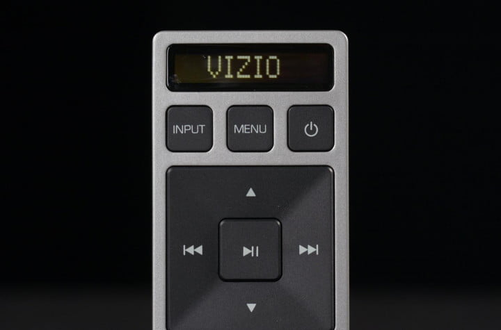 vizio s  w b review sb remote display controls