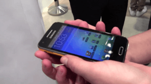 samsung galaxy beam projector phone hands on impressions