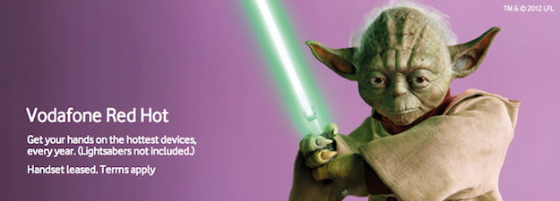 Vodafone Red Hot Yoda