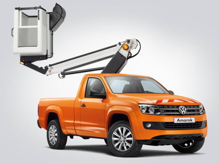 volkswagen could launch commercial vehicles united states amarok lift platform