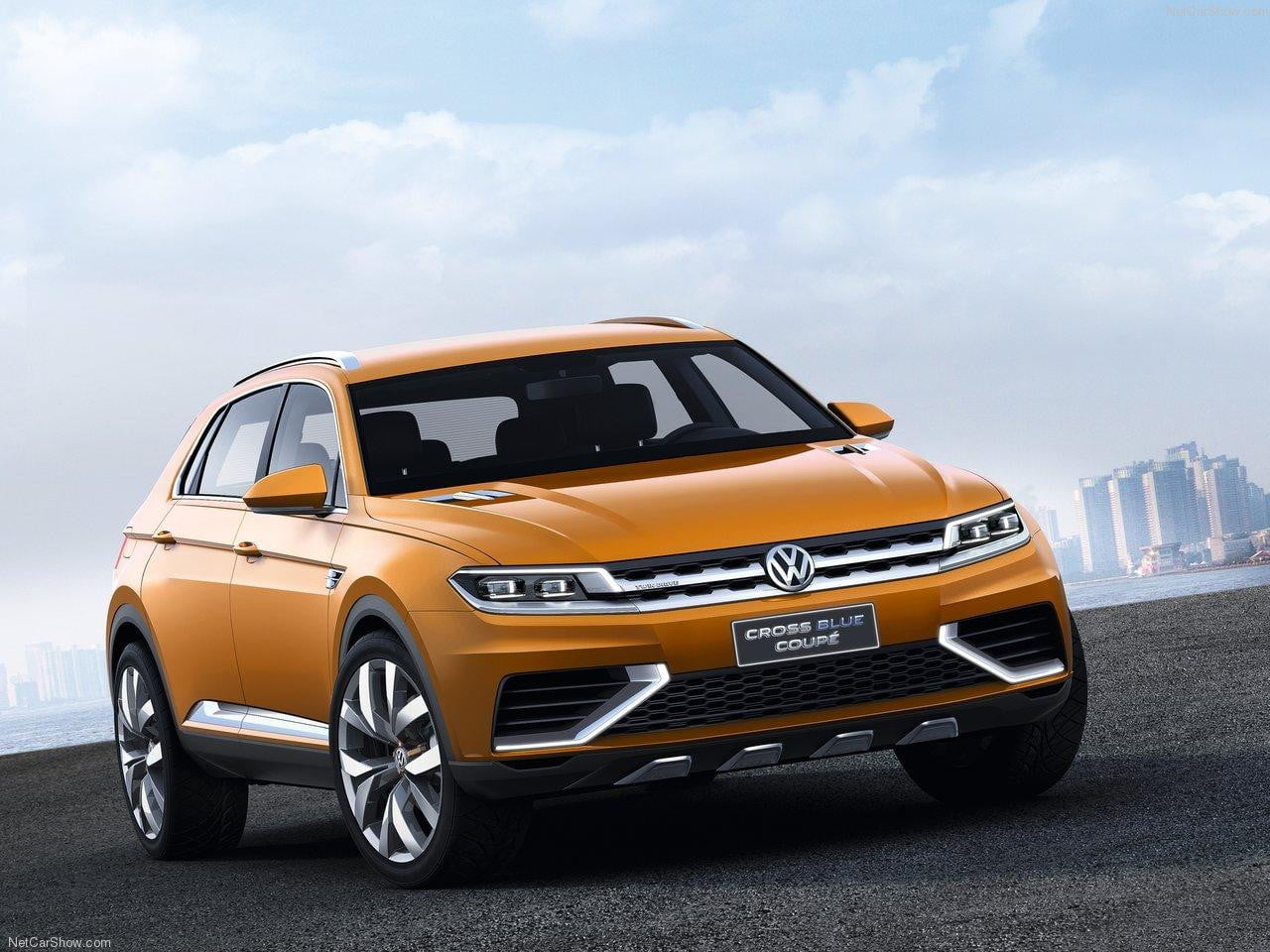 Volkswagen-CrossBlue_Coupe concept front angle