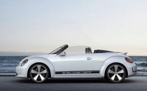Volkswagen E-Bugster side view