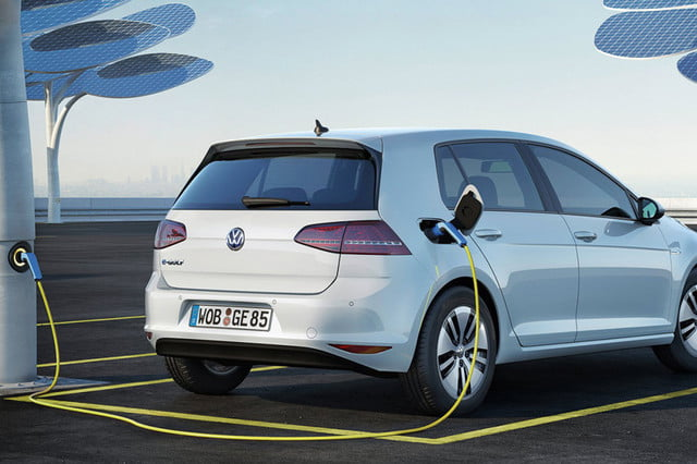 vw all electric driverless ridehailing  volkswagen e golf x