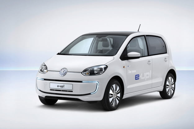 Volkswagen e-up! front three quarter