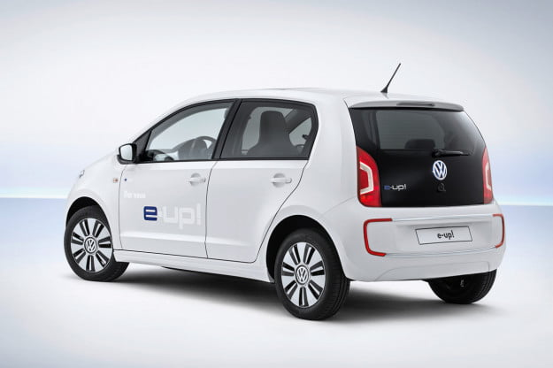 Volkswagen e-up! rear three quarter