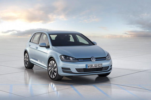VW Golf BlueMotion Concept