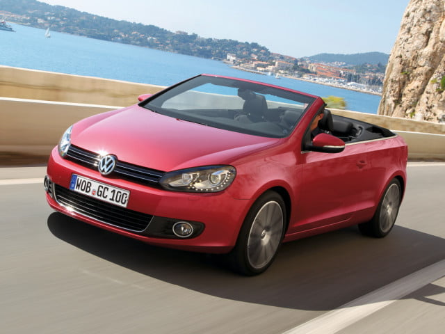 volkswagen golf cabrio news rumors specs