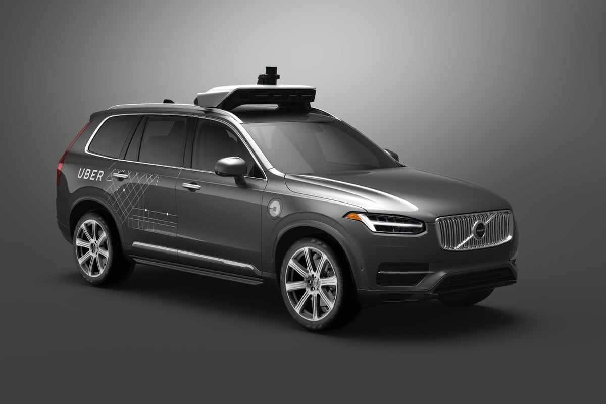 volvo and uber partner on self driving cars autonomous xc