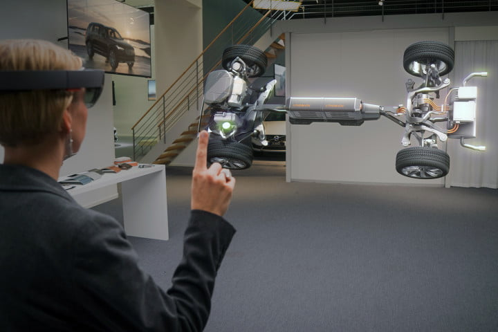 is hololens the future of education volvo cars microsoft experience