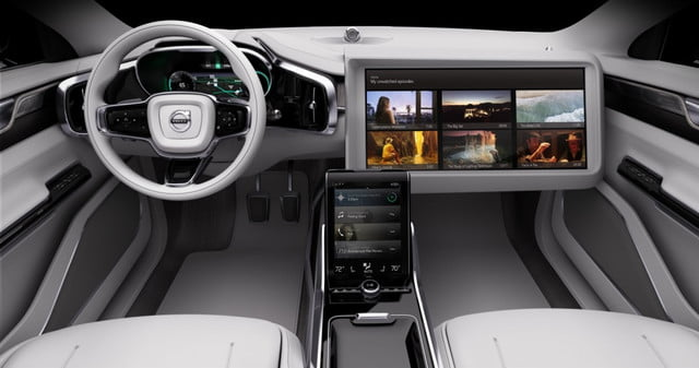 study says consumers want a steering wheel in driverless cars volvo concept
