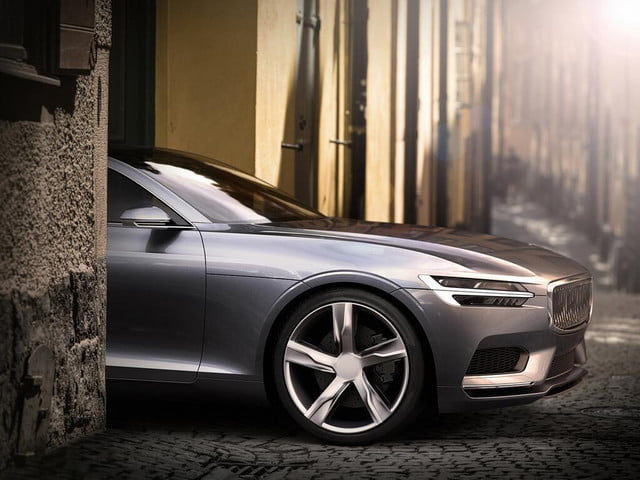 volvo is no longer vanilla thanks to c coupe concept
