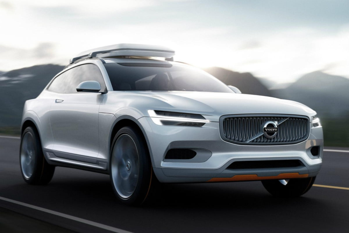 volvo complete concept car trilogy  geneva motor show xc coupe