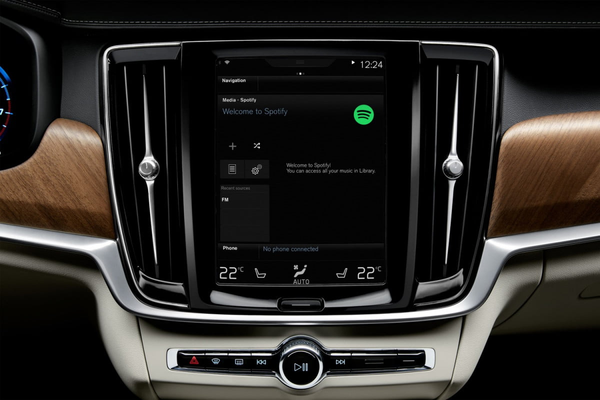 volvo to add spotify xc  crossover