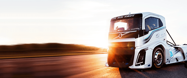 Volvo built a record-smashing 2,400 HP truck as fast as a Porsche 911
