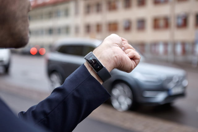 microsoft band fitness end volvo