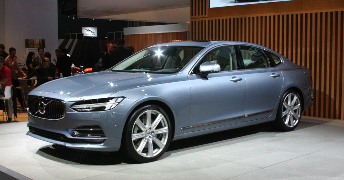 volvo s90 flagship sedan pricing news specs digital trends. Black Bedroom Furniture Sets. Home Design Ideas