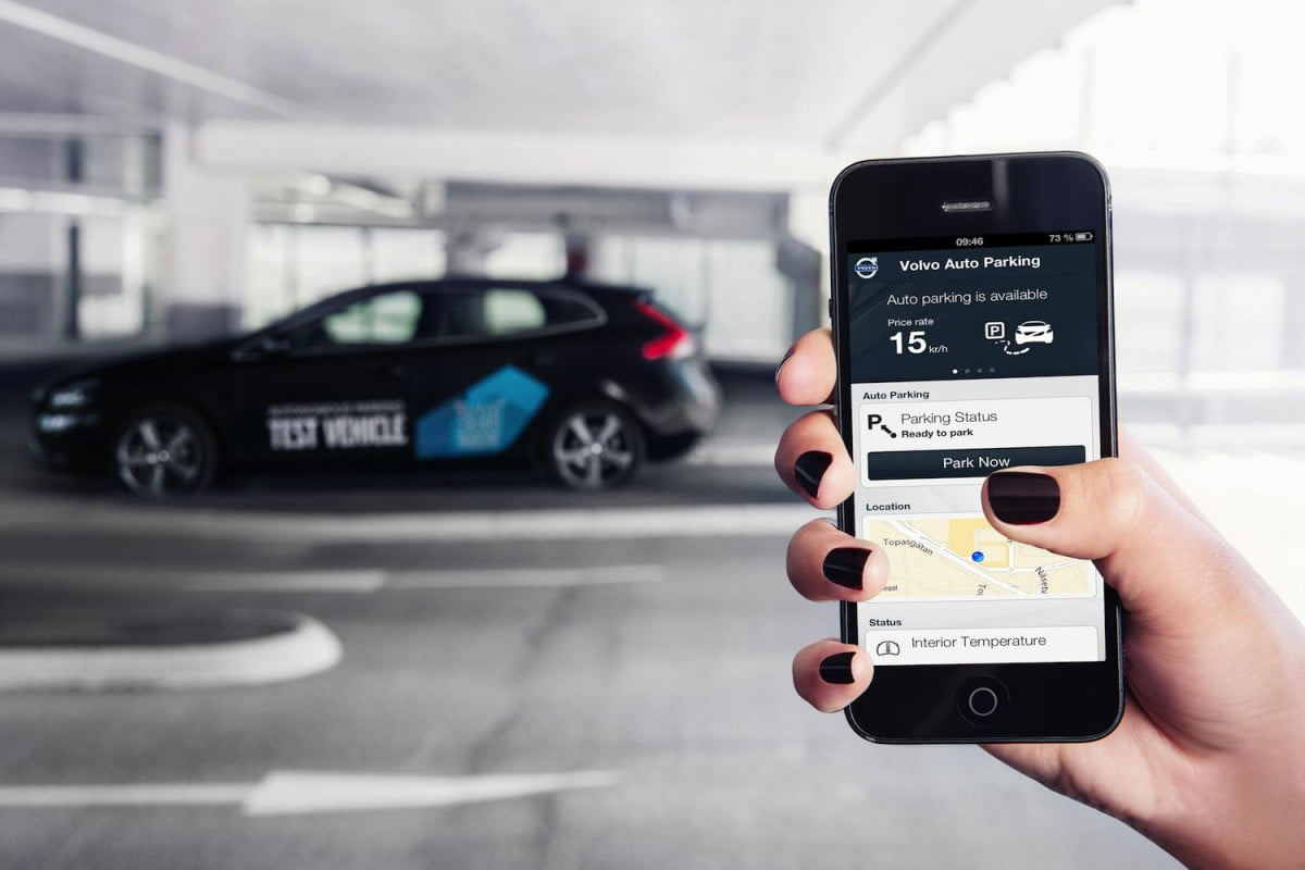 hang up and drive people are driving less because of their phones volvo smartphone app