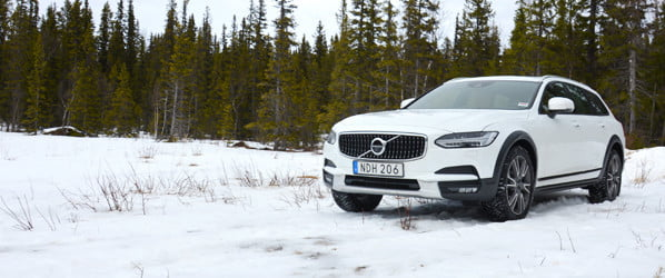Like a moose in a tux, Volvo's V90 Cross Country takes city style to the tundra