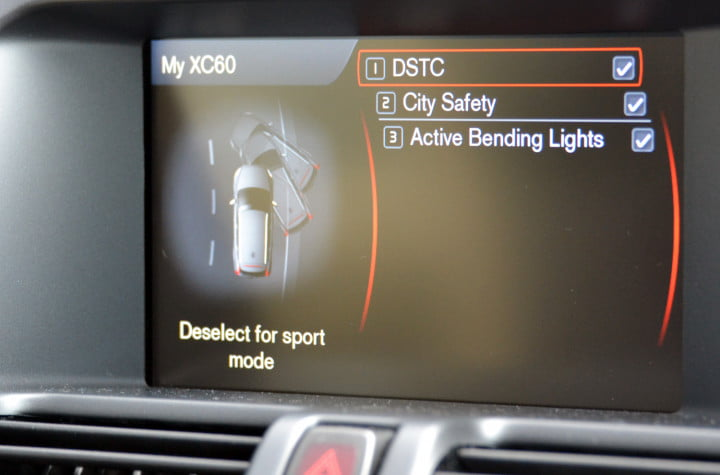 review  volvo xc my city safety screen