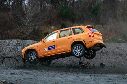 Volvo XC90 crash 2