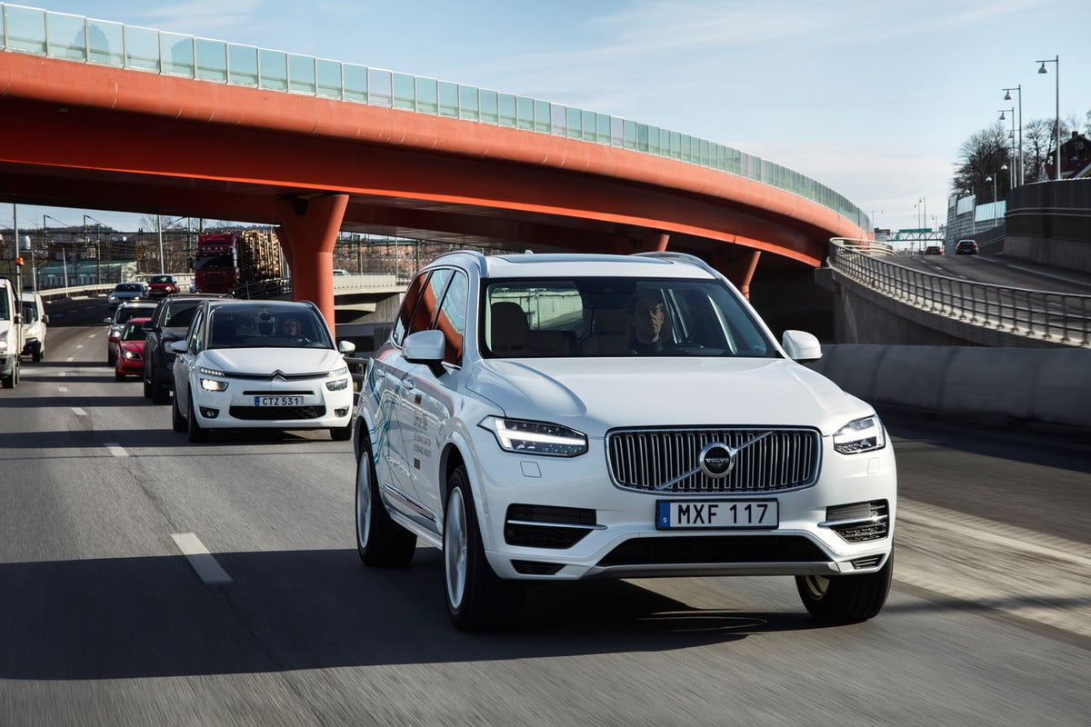 volvo survey attitudes to self driving cars xc  drive me