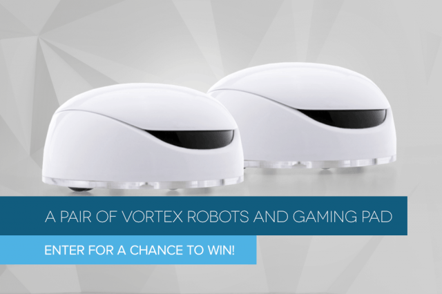 dt giveaway vortex  robots and gaming pad header