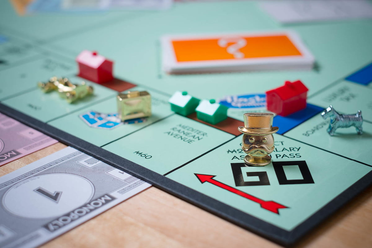 monopoly token madness vote tokens on board