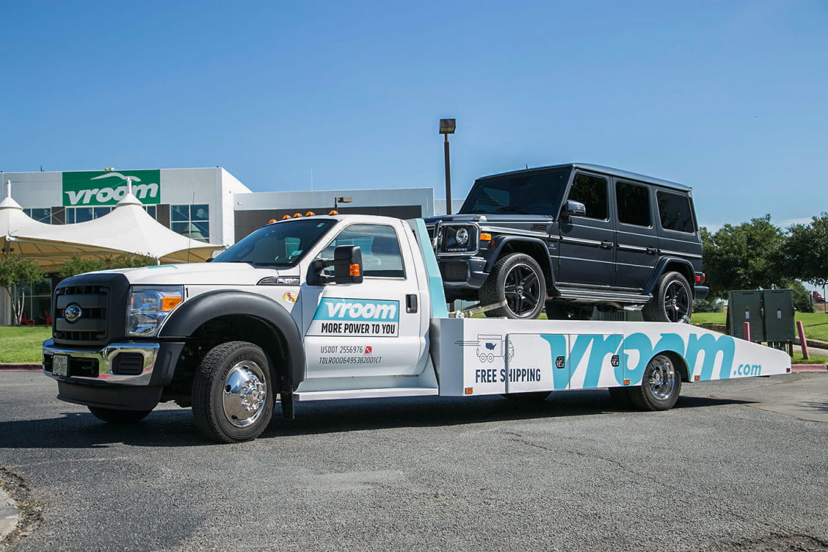 how the internet is changing traditional auto dealership vroom delivery