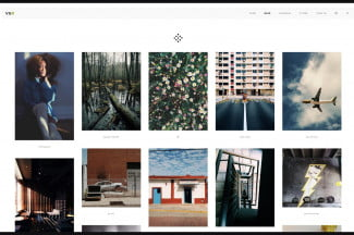 VSCO Grid, a publishing platform for discovering new photos and users.