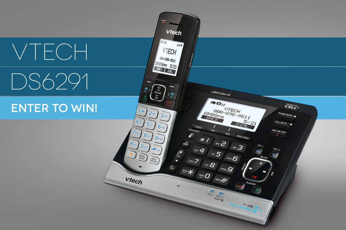 dt giveway win vtechs ds  connect cell cordless phone vtech contest