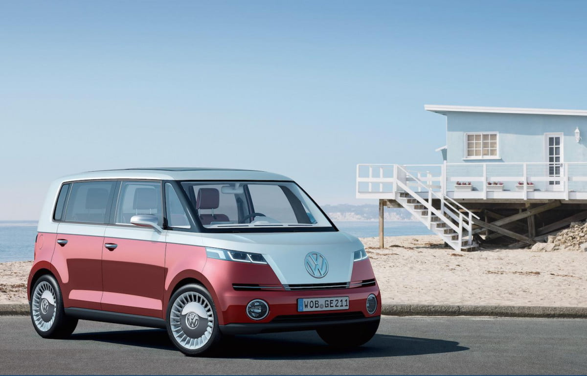all electric vw van concept coming rumors pictures news bulli
