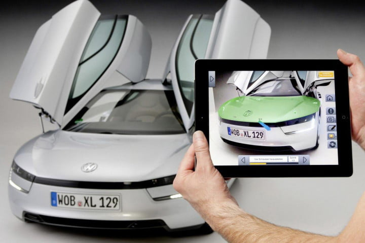 future ar mobile vw marta app