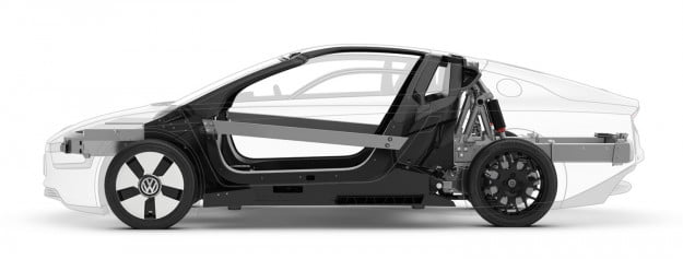 vw xl1 body design