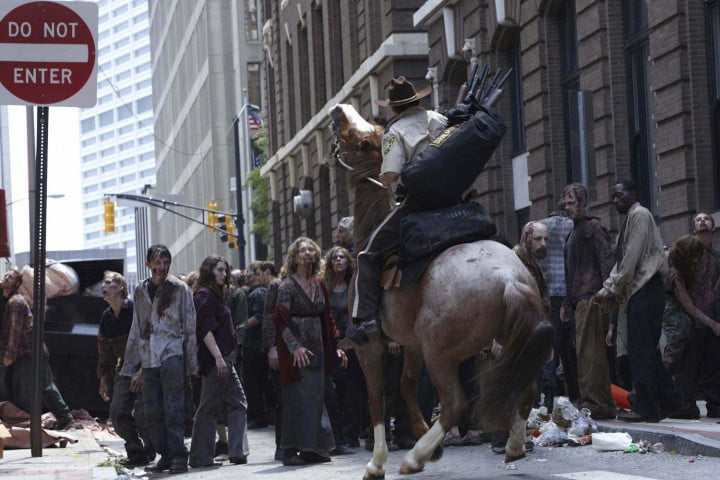greg nicotero interview walking dead fx special effects andrew lincoln season  horse